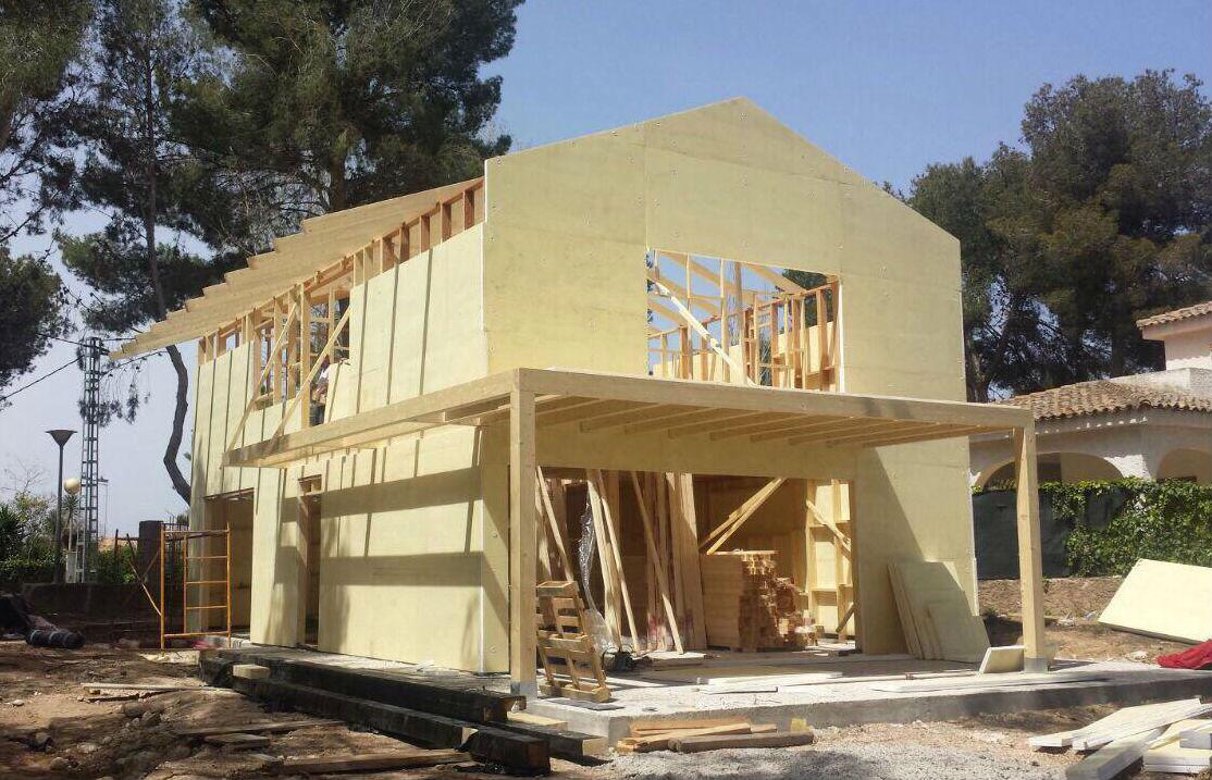 Casas de madera prefabricadas precios baratos llave en mano 2018 - Casas americanas con porche ...
