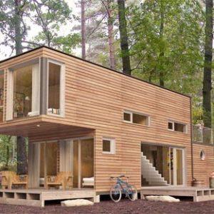 Casas de madera todos los modelos precios y m2 baratas o lujo 2018 - Casa madera prefabricada precio ...